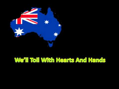 The Official Full Version Of The Australian National Anthem With ...