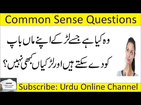 Rohtak MDU | Common Sense IQ- Test Questions | Funny Reply