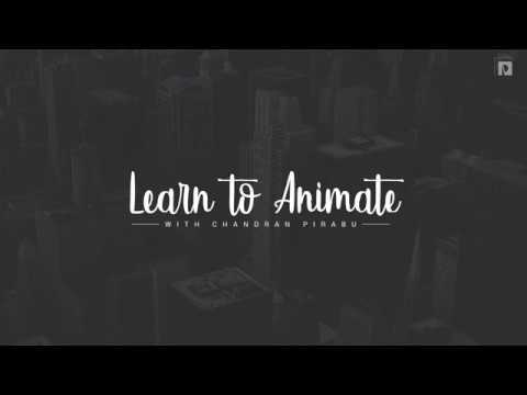 Handwriting Text Animation In Animate CC 2018 [Tamil]
