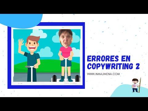 ️ Errores en copywriting 2 - Inma Jiménez ️