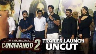 Commando 2 Trailer Launch | Full Press Conference