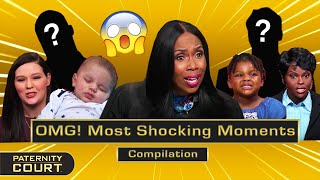 OMG! Paternity Court's Most Shocking Moments Pt. II (Compilation) | Paternity Court