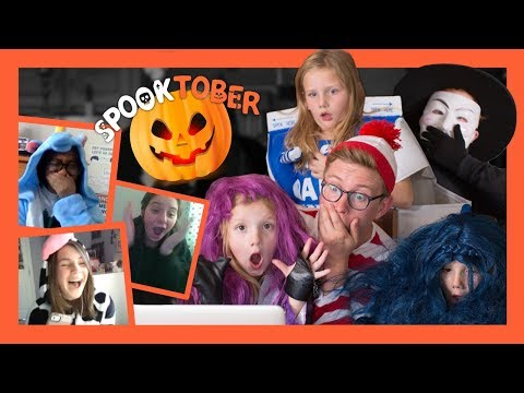 Omegle Trick-Or-Treating ft. Nieces & Nephews