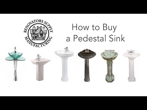 White Mini Porcelain Pedestal Sink