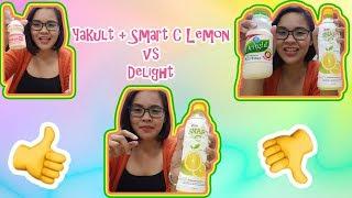 SMART C Lemon + Yakult VS Delight + Hugot