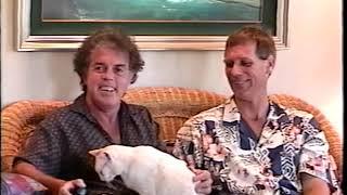 Maui Artist Kurt Flood visits with Jason Schwartz