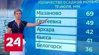 """""""Погода 24"""": экстремальные дожди на Дальнем Востоке - Россия 24"""
