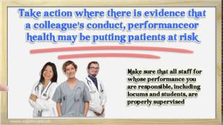Appraisal of doctors Domain 2 safety and quality