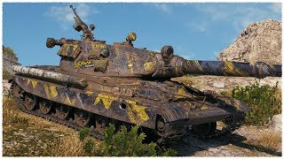 """60TP """"MAMMOTH"""" • TOP DAMAGE • WoT Gameplay"""