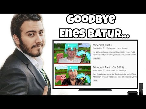 Youtuber Enes Batur copies videos from multiple people and makes copyright strikes on anyone that exposes his practices