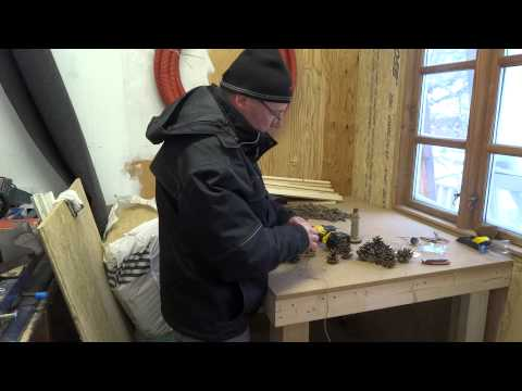 DIY Jule gran-guirlande