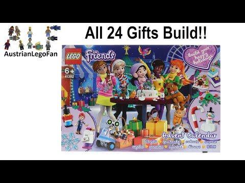 Vidéo LEGO Friends 41382 : Calendrier de l'Avent LEGO Friends 2019