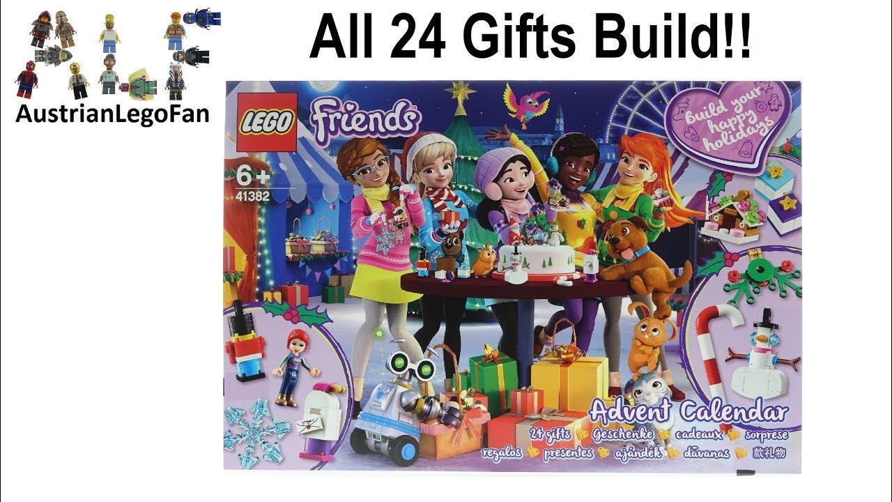 Lego Friends 41382 Advent Calendar 2019 - Lego Speed Build Review