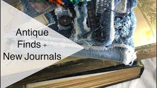 Vintage Albums And Handmade Journals