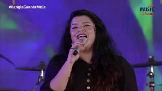 Badal Pe Paon Hai || Ujjaini Mukherjee Live - YouTube