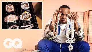 Yo Gotti Shows Off His Insane Jewelry Collection | GQ