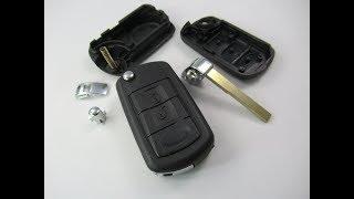 Land Rover Discovery Range Klappschlüssel Flip Key Remote Fob repair gehäuse tauschen