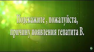 Причины гепатита В [Н. Пейчев, Академия Целителей]