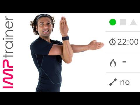 Toracico esercizio colonna vertebrale video di Vladimir Bugrimova
