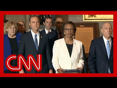 See McConnell's response to arrival of impeachment articles