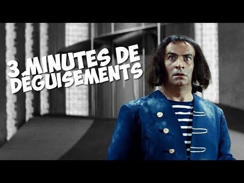 3 minutes de déguisements avec Louis de Funès !