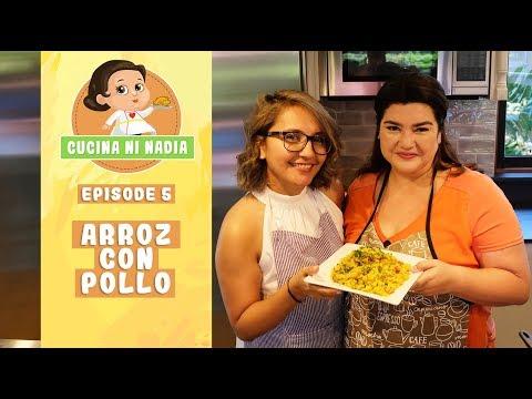 Cucina Ni Nadia Arroz Con Pollo Episode 5