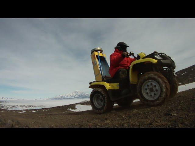 OIB: Four-wheeling Antarctica