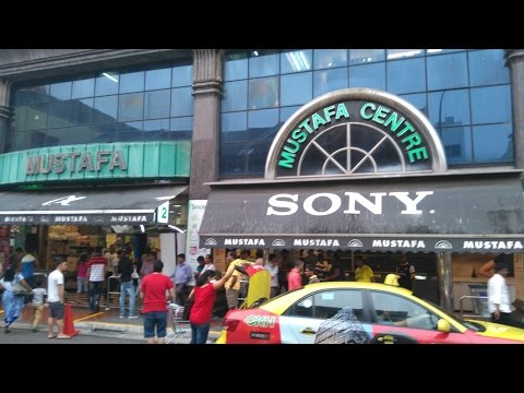 Video MUSTAFA CENTRE SHOPPING MALL -1 OF 2