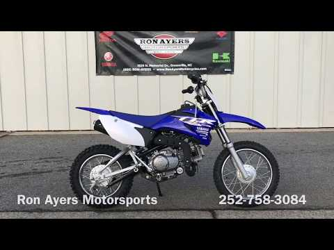 2018 Yamaha TT-R110E in Greenville, North Carolina - Video 2