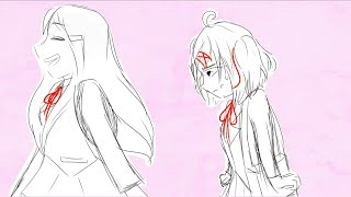 Kiss the girl - DDLC animatic (yuri x natsuki)