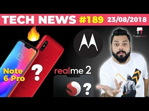 Redmi Note 6 Pro, RealMe 2, Micromax YU ACE, Flipkart Survey, Moto Foldable Phone-TTN#189