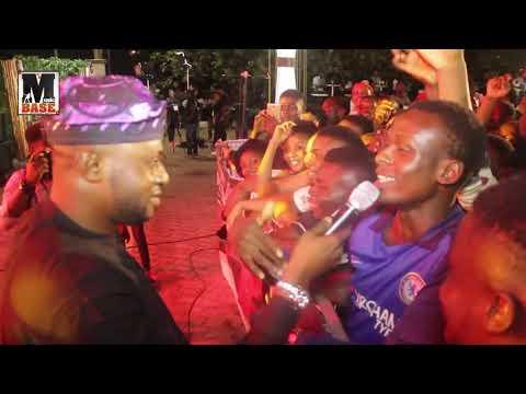 ODUNLADE ADEKOLA DID GREAT AS HE ENTERTAIN FANS WITH ZANKU DANCE & ACTING @ GODBERG FAAJI CONCERT