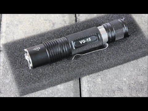 Thorfire VG15: Budget Cost, 800 Lumens EDC Light