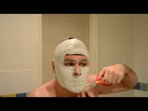 Face mask na may gulaman para sa mamantika balat