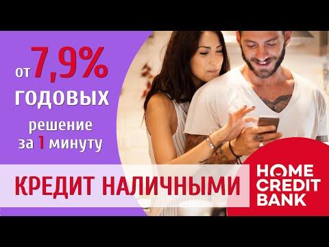 Кредит наличными в Хоум Кредит Банк. Наличный кредит в Home Credit Bank. Лучшие условия!