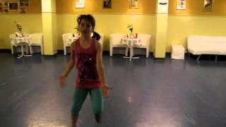 Sarah in Aktion in der Tanzschule Kazianka in Völkermarkt!