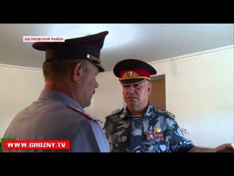Глава МВД Чечни на вертолете провел внезапную проверку постов
