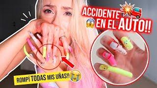 24 HORAS CON UÑAS EXTRA LARGAS!!! 💅🏻😭 ACCIDENTE DOLOROSO! TERMINA MAL! | Katie Angel