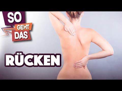 Der Schmerz im Rücken auf dem Gebiet des Kreuzbeins die Behandlung
