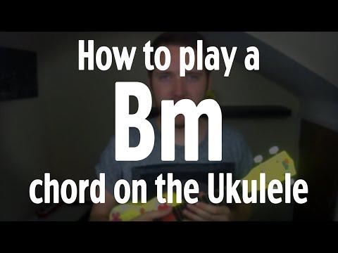 How to play a Bm chord on the Ukulele | by iamJohnBarker