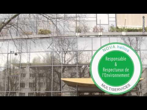 Nova Helios Multiservices, société de nettoyage de vitres à Noisy-le-Grand.