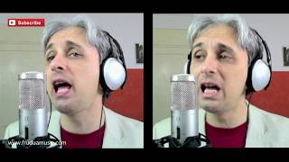 How To Sing a cover of Don't Let Me Down Beatles Vocal Harmony
