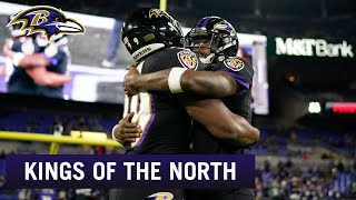 Hype Reel: Ravens Win Back-to-Back AFC North Championships | Baltimore Ravens