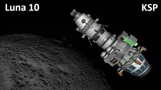 Space Race KSP - Luna 10 - Making History