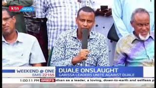 Garissa leaders unite against Aden Duale