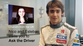 Nico and Esteban invite YOU to ask them a question! - Sauber F1 Team - Ask the Driver
