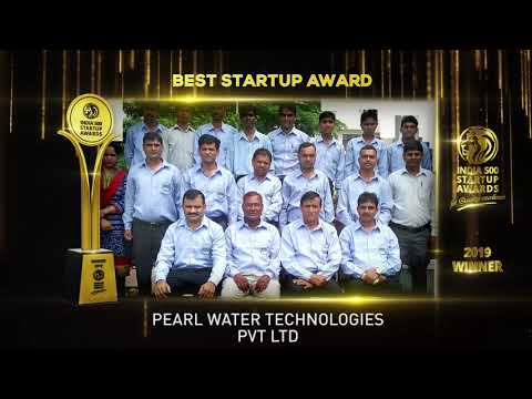 Pearl Water  get India 500 Startup Award for Quality excellence.