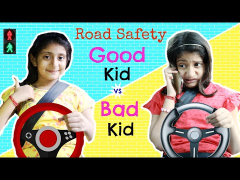 Good Kid vs Bad Kid - ROAD SAFETY | #TrafficRules #Roleplay #Fun #Sketch #MyMissAnand