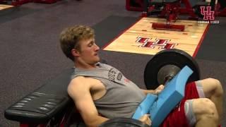 急成長中のアメリカ大学野球チーム、Houston大学のトレーニング!