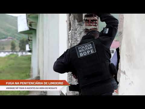 Apenas 9 agentes estavam no presídio em Limoeiro no momento do resgate, diz sindicato